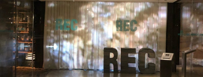 REC is one of Artem : понравившиеся места.