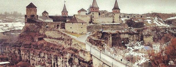 Кам'янець-Подільська фортеця / Kamianets-Podilskyi Castle is one of Кам'янець-Подільський.