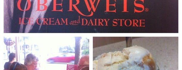 Oberweis Ice Cream & Dairy Store is one of Fav Restaurants.