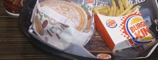 Burger King is one of Locais salvos de N..