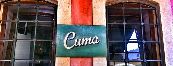 Cuma is one of My favourites for Cafes & Restaurants.