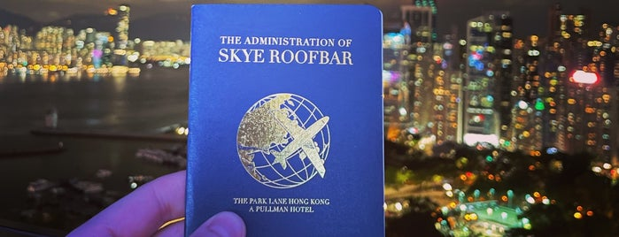 Skye Roofbar & Dining is one of hong kong.