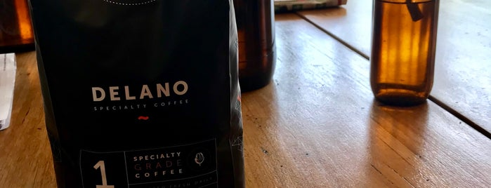 Delano Specialty Coffee is one of Mattさんのお気に入りスポット.