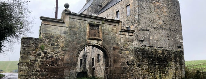 Midhope Castle is one of Scotland - Must See.