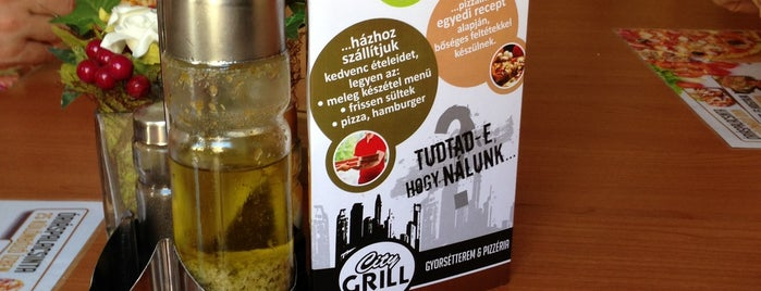 City Grill gyorsétterem is one of Tiborさんのお気に入りスポット.