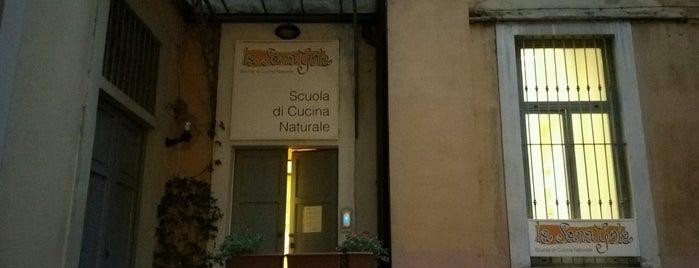 La Sana Gola is one of Vegan Eats in Milan.