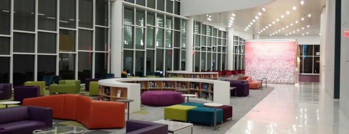 James B. Hunt Jr. Library is one of RDU Baton - Raleigh Favorites.