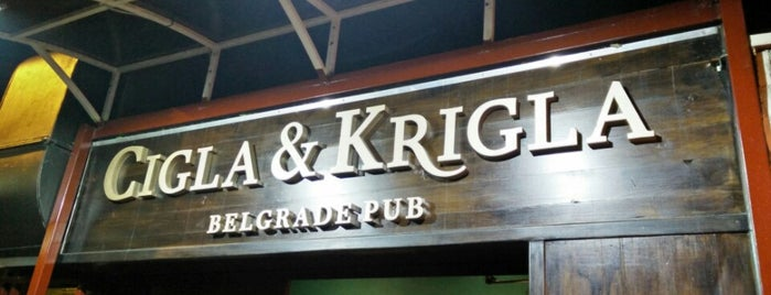 Cigla&Krigla is one of Craft Beers of Serbia.
