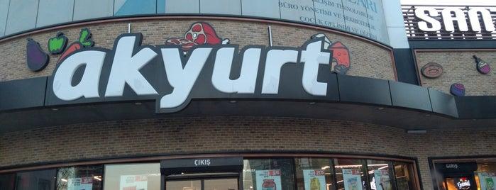 Akyurt Süpermarket is one of Tempat yang Disukai Murat.