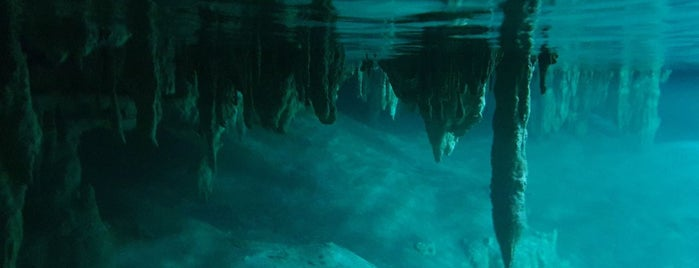 Cenotes Sac Actun is one of Yucatan.