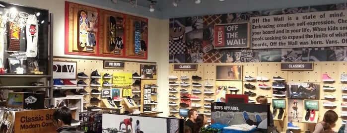 Vans is one of Favorite Places to visit!.