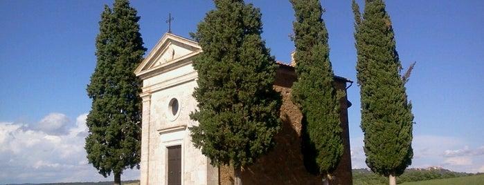 Cappella Vitaleta is one of Tuscany.