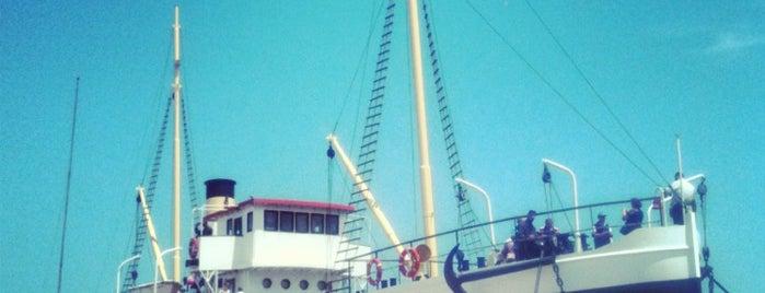Bandırma Gemi Müze ve Milli Mücadele Açık Hava Müzesi is one of SAMSUN.