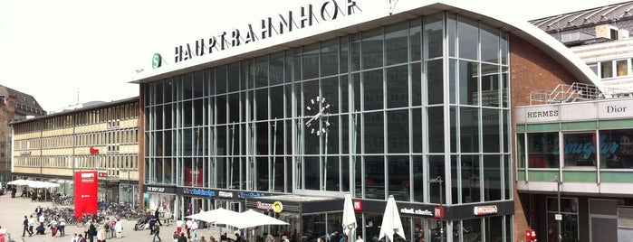 Köln Hauptbahnhof is one of Follow the Orient Express — Şark Ekspresi.