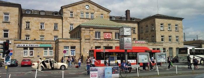 Bahnhof Bamberg is one of Posti che sono piaciuti a Felipe.