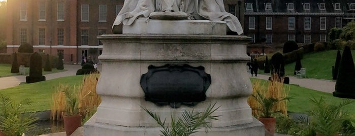 Queen Victoria Statue is one of London calling.