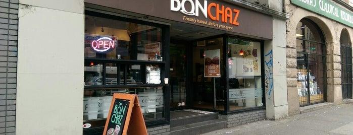 Bonchaz Bakery Cafe is one of Vancouver vegan / vegetarian.