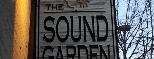 The Sound Garden is one of Chris'in Beğendiği Mekanlar.