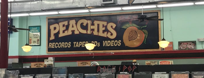 Peaches Records is one of New Orleans, LA.