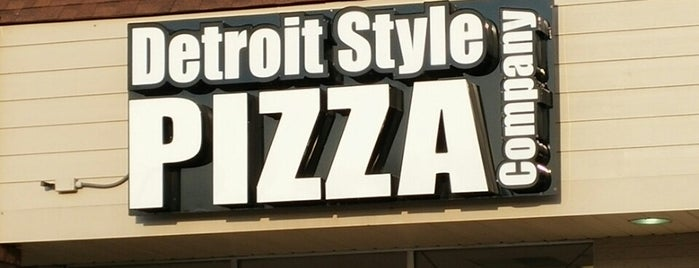 Detroit Style Pizza is one of Pizza.