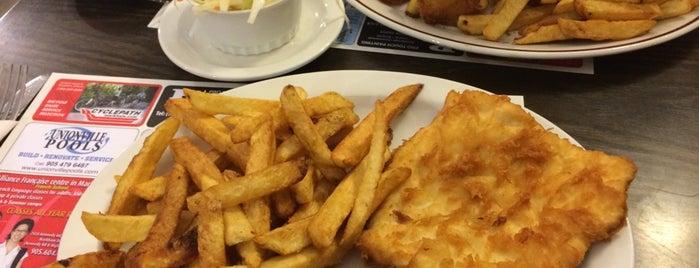 Danny's Fish & Chips is one of Tempat yang Disimpan Rachel.