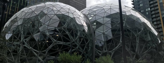 Amazon - The Spheres is one of US West Coast.