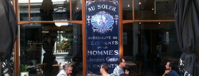 Au Soleil is one of My Bruxelles's best spots.