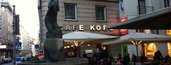 Cafe Korb is one of The best of Vienna ( for Insiders only ).