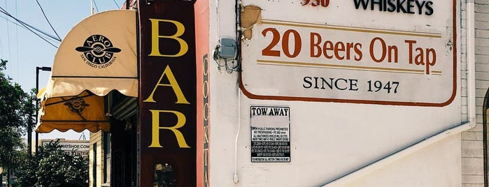 The Aero Club Bar is one of San Diego - South County.