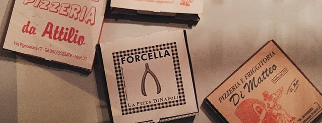Forcella is one of New York Pizza.