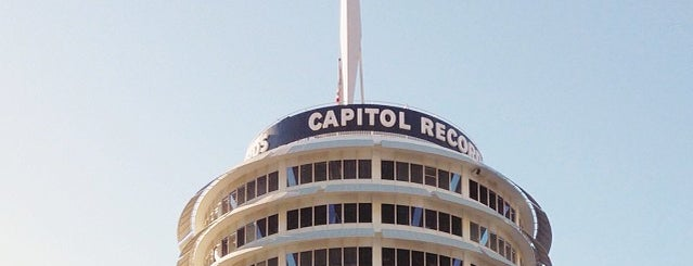 Capitol Records is one of Historic Route 66.