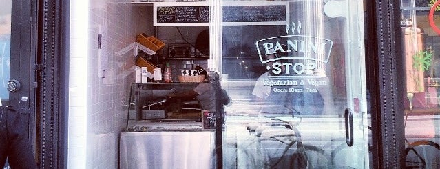 Panini Stop is one of New in LA - to try.