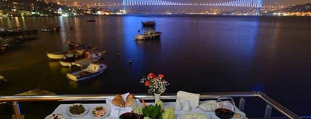 Deniz Yıldızı is one of Istanbul Best Dine & View.