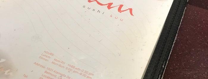 Sushi Kuu is one of Orte, die Isabella gefallen.