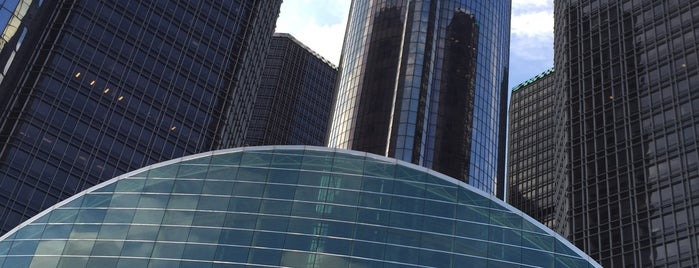 General Motors World Headquarters is one of Orte, die Kayla gefallen.
