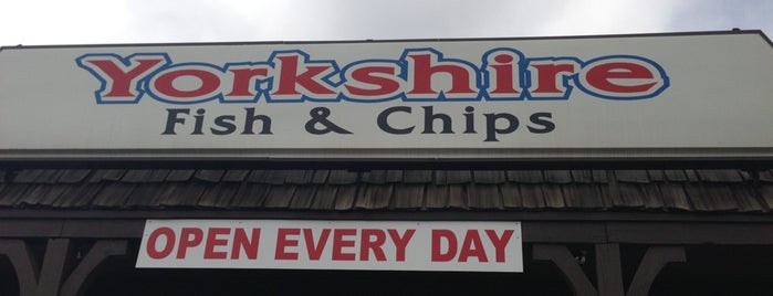 Yorkshire Fish and Chips is one of Gespeicherte Orte von Chip.