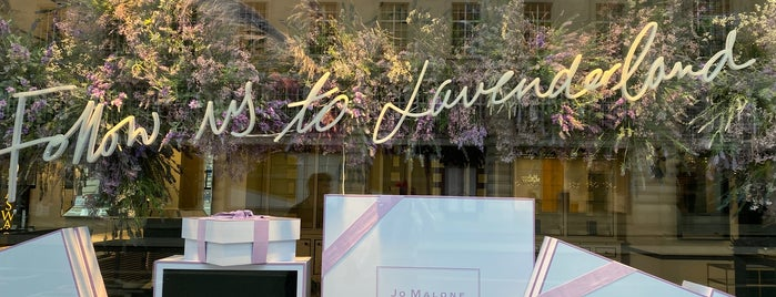 Jo Malone is one of London.