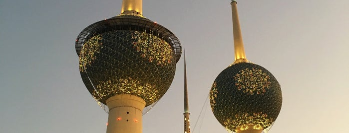 Kuwait Towers is one of Dmitry'in Beğendiği Mekanlar.
