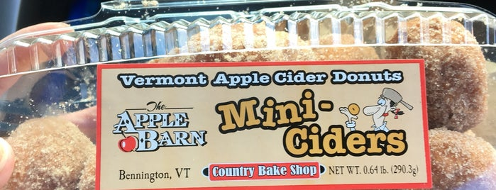 The Apple Barn & Country Bake Shop is one of Vermont.