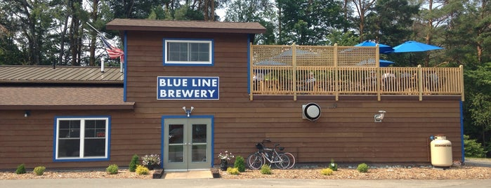 Blue Line Brewery is one of ADK.