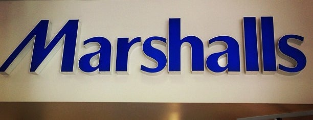 Marshalls is one of Lieux qui ont plu à Jason.