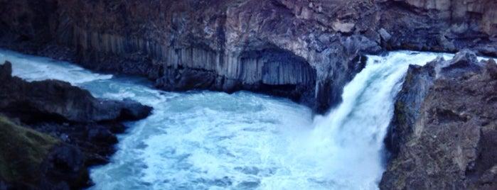 Aldeyjarfoss is one of Island - nutno vidět.. ;).