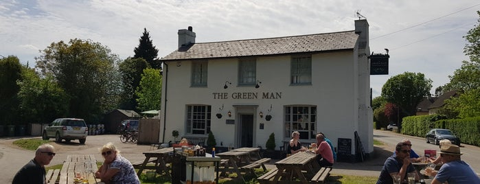The Green Man Thriplow is one of Tempat yang Disukai Ralph.