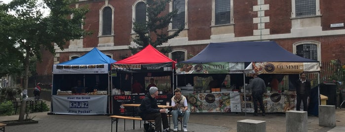 Tabard Street Food Market is one of Street Foods.