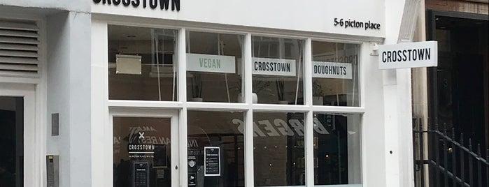 Vegan Crosstown Doughnuts is one of London لندن.