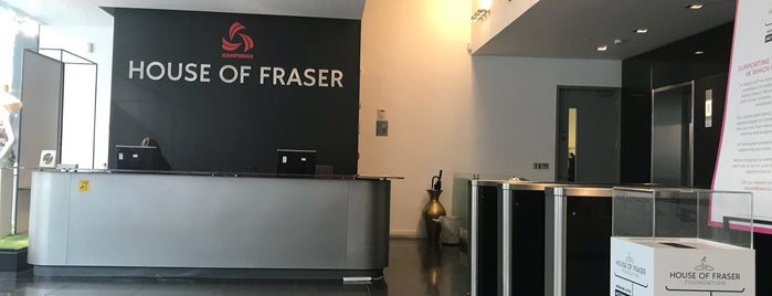 House of Fraser Head Office is one of London shopping..