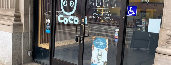 Coco Fresh Tea is one of Locais curtidos por Dan.