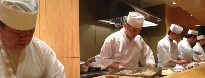 Sushi Yasuda is one of 寿司.