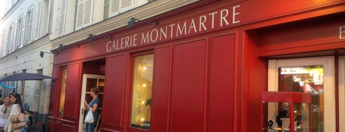 Galerie Montmartre is one of Montmartre.