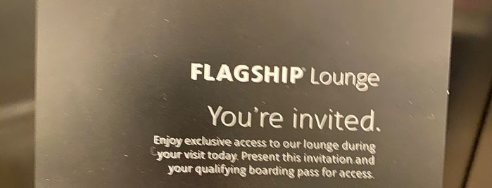 American Airlines Flagship Lounge is one of Tempat yang Disukai Marcia.